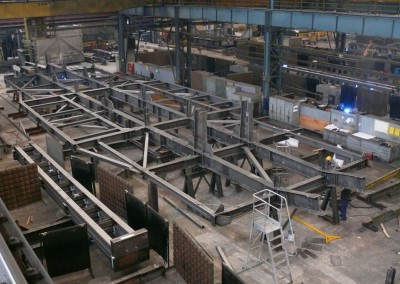 Conveyors structures in Mexico