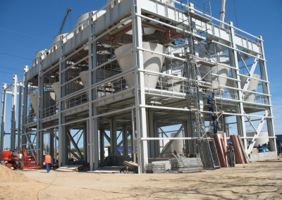 Konstrukcja wsporcza w Elektrowni Pątnów