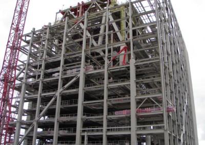 Konstrukcje wsporcza w Elektrowni Eemshaven