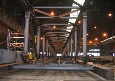 Structures for conveyors
