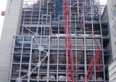 Konstrukcje wsporcza w Eemshaven