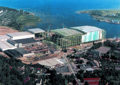Wismar shipyard